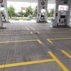 Seyir Trafik - Petrol İstasyonu Çizgileri 4