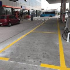 Seyir Trafik - Petrol İstasyonu Çizgileri 5