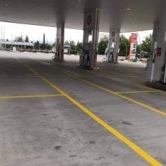 Seyir Trafik - Petrol İstasyonu Çizgileri 6