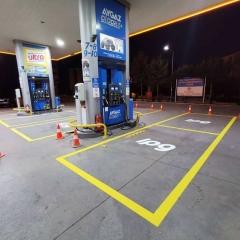 Seyir Trafik - Petrol İstasyonu Çizgileri